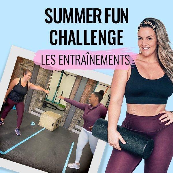 Summer Fun Challenge 2020 - Entraînements