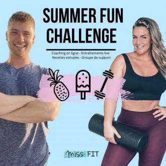 Summer Fun Challenge 2020 - Recettes + Entraînements